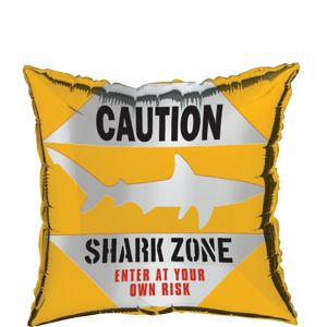 Caution Shark Balloon