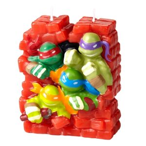 Wilton Teenage Mutant Ninja Turtles Birthday Candle