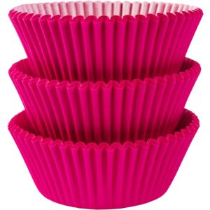 Bright Pink Baking Cups 75ct