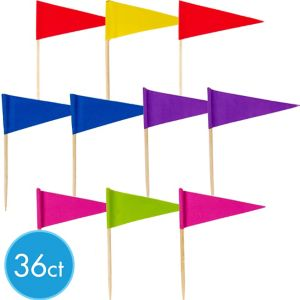 Rainbow Cupcake Picks 36ct