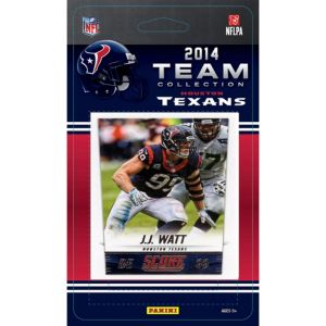 2014 Houston Texans Team Cards 13ct