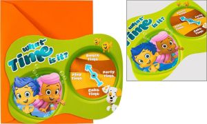 Premium Bubble Guppies Invitations 8ct