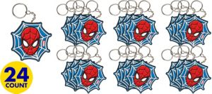 Spider-Man Key Chains 24ct