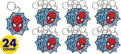 Spider-Man Key Chains 24ct