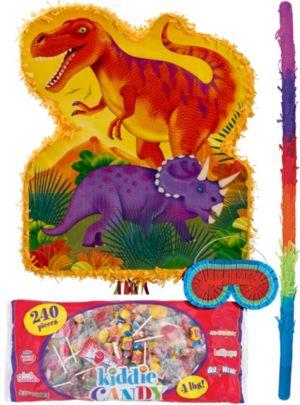 Pull String Prehistoric Dinosaurs Pinata Kit