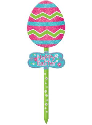 Easter Egg Yard Stake