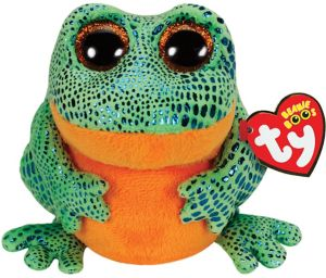 Speckle Beanie Boo Frog Plush