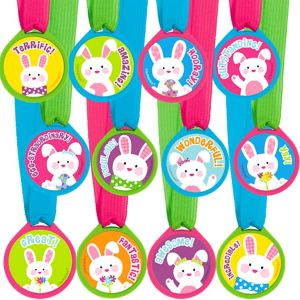Easter Award Medals 12ct