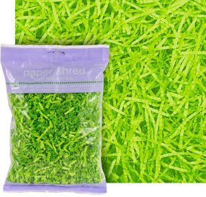 Kiwi Green Paper Easter Grass