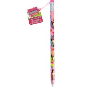Minnie Mouse Giant Pencil with Sharpener