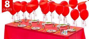 Farmhouse Fun 1st Birthday Party Supplies Basic Party Kit