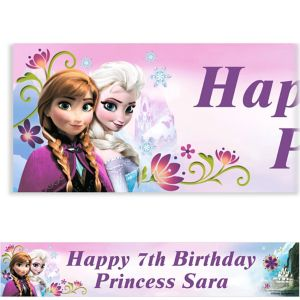 Custom Frozen Banner 6ft