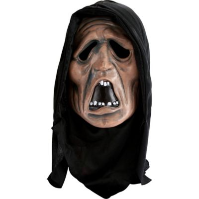 Hooded Horror Ghoul Mask