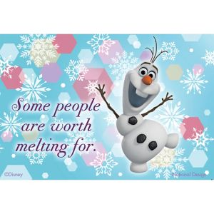 Worth Melting For Olaf Magnet - Frozen