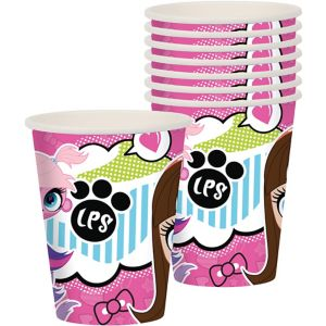 Littlest Pet Shop Cups 8ct