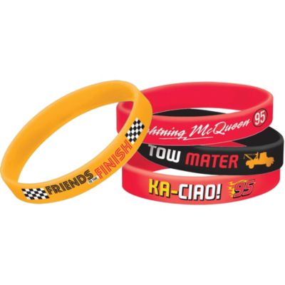 Cars Wristbands 4ct