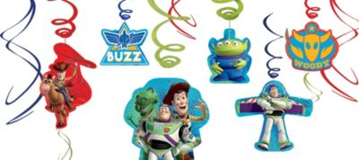 Toy Story Swirl Decorations 12ct