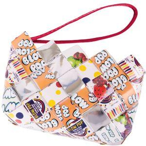 Blow Pop Candy Wrapper Wristlet