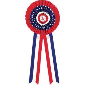 Patriotic Rosette Bow