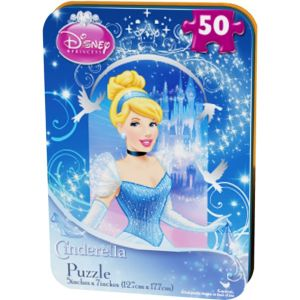 Disney Princess Cinderella Mini Puzzle 50pc