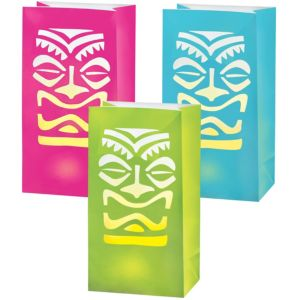 LED Tiki Luminaries 6ct