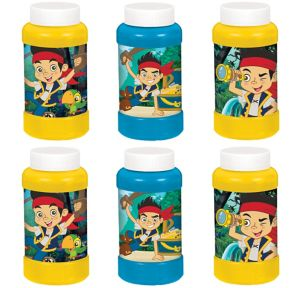 Jake and the Never Land Pirates Bubbles 6ct