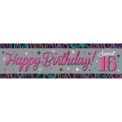 Celebrate Sweet 16 Banner