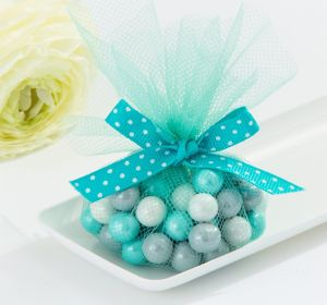 Robin's Egg Blue Tulle Circles 50ct