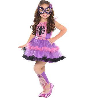 Girls Tutu Spider-Girl Costume