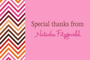 Custom Electric Wave Warm Thank You Notes