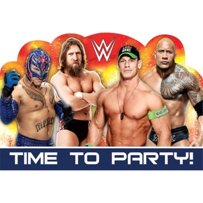 WWE Invitations 8ct