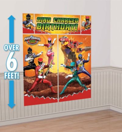 Power Rangers Scene Setter