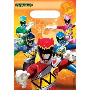 Power Rangers Favor Bags 8ct