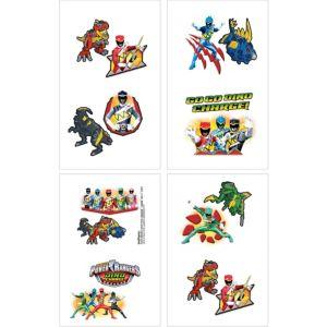 Power Rangers Tattoos 16ct