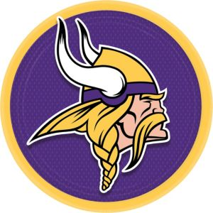 Minnesota Vikings Lunch Plates 18ct