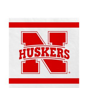 Nebraska Cornhuskers Lunch Napkins 20ct