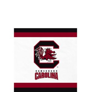 South Carolina Gamecocks Beverage Napkins 24ct
