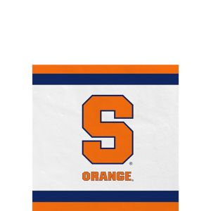 Syracuse Orange Beverage Napkins 24ct