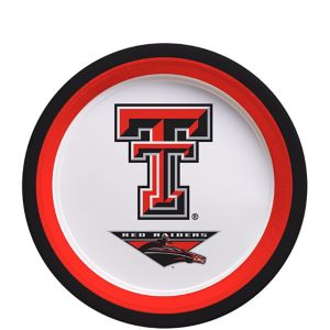 Texas Tech Red Raiders Dessert Plates 12ct