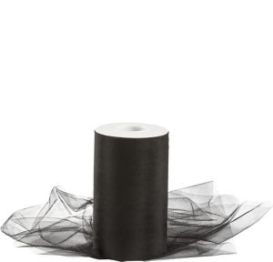 Black Tulle Spool