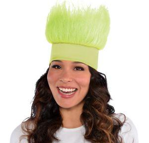 Neon Green Crazy Hair Headband
