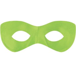 Neon Green Domino Mask