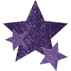 Purple Star Body Jewelry