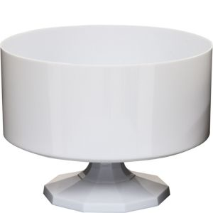 White Plastic Trifle Container