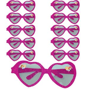 Disney Princess Glitter Heart Glasses 24ct