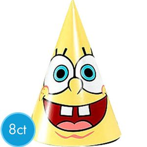 SpongeBob Party Hats 8ct