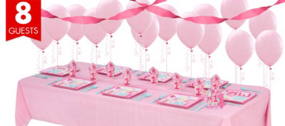 Wild At One Girl's 1st Birthday Basic Party Kit
