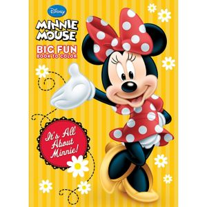 Minnie Mouse Coloring & Activity Book