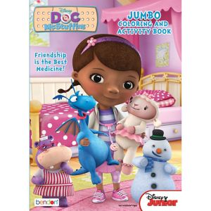 Doc McStuffins Coloring & Activity Book