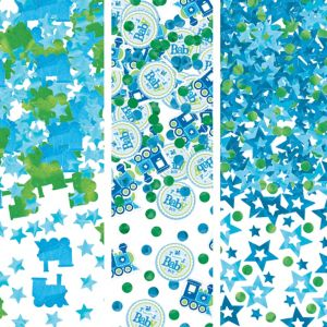 Welcome Baby Boy Baby Shower Confetti